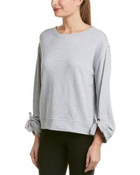 Splendid - Tie-sleeve French Terry Pullover - Lyst