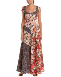 Free People - La Fleur Maxi Dress - Lyst