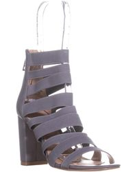 Charles David - Erika Gladiator Sandals, Stone Grey - Lyst