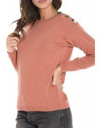 Jucca - Women's Red Wool Sweater - Lyst