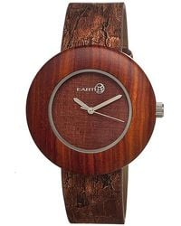 Earth Wood - Ligna Leather-band Watch - Lyst
