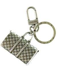 Louis Vuitton | Silver-tone Keepall Keyholder | Lyst