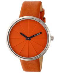 Simplify - Men's The 4000 Quartz Watch - Lyst