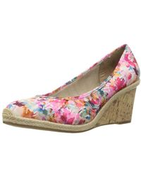 LifeStride - Womens Listed Closed Toe Wedge Court Shoes - Lyst