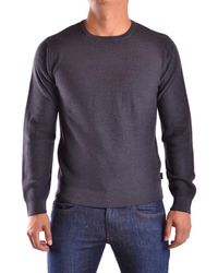 Armani - Men's Scm43msc39m530 Grey Wool Sweater - Lyst