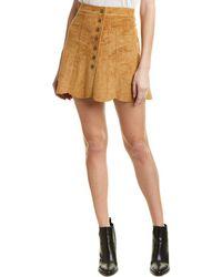 Dolce Vita - Scalloped Mini Skirt - Lyst
