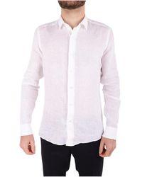 Emanuel Ungaro - Men's White Linen Shirt - Lyst