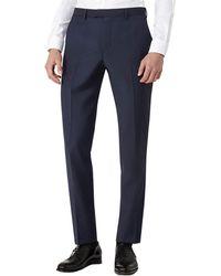 Reiss - George T Slim Fit Wool-blend Trouser - Lyst