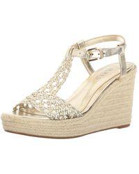 Lauren by Ralph Lauren - Womens Hailey Open Toe Casual Platform Sandals - Lyst