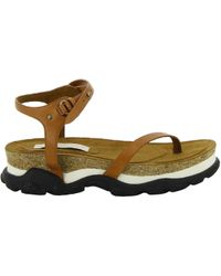 Stella McCartney - Women's Multicolor Faux Leather Sandals - Lyst