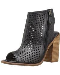 Kelsi Dagger Brooklyn - Womens Mason Leather Peep Toe Ankle Fashion Boots - Lyst