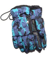 Prada - Men's Women's Nylon Leather Ski Glove - Lyst
