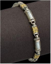 Konstantino - Ismene 18k & Silver Mother-of-pearl Bracelet - Lyst
