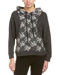 ANAMÁ - Embroidered Floral Sweatshirt - Lyst