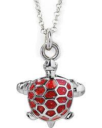 Jan Leslie - Turtle Pendant / Charm Necklace - Lyst