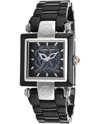 Christian Lacroix - Women's Black Acetate And Dial Acetate - Lyst