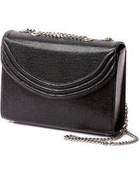Lauren Cecchi New York - Mezzo Medium Chain Handbag In Black Snake - Lyst