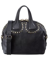 Givenchy - Small Nightingale Leather Satchel - Lyst