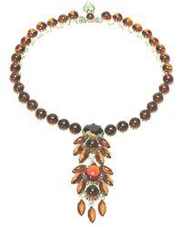 Otazu - Vintage-inspired Cabuchon Necklace - Lyst