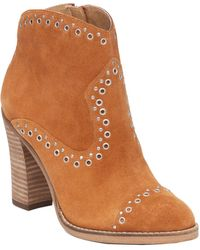 Lucky Brand - Marionn Suede Bootie - Lyst