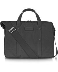 Porsche Design - Men's Grey Cotton Briefcase - Lyst