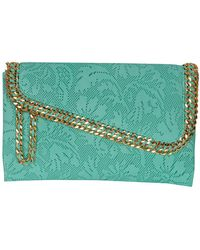 Cashhimi - Beverly Drive Leather Clutch - Lyst