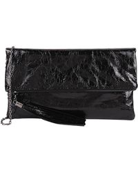 Armitage Avenue - Crackle Clutch With Tassel - Lyst