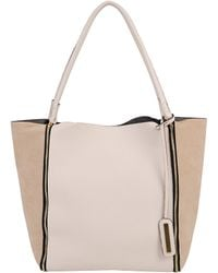 7Chi - Colorblock Tote With Zips - Lyst