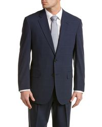 Brooks Brothers - Brooks Cool Madison Classic Fit Wool-blend Suit With Pleated Pant - Lyst