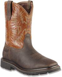 Ariat - Men's Sierra Wide Square Toe Boots - Lyst
