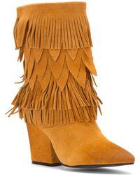 Mojo Moxy - Women's Wicken Fringe Boot Boots - Lyst