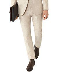 Reiss - Saunders T Modern Fit Wool-blend Trouser - Lyst