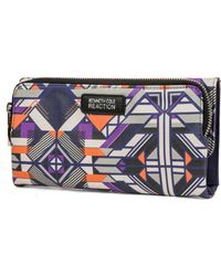 Kenneth Cole Reaction - Zip Drive Trifold - Lyst