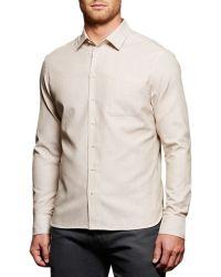 Boga - Lark Twill Sport Shirt - Lyst