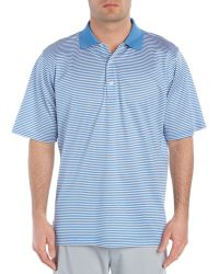 Fairway & Greene - Bar Stripe Lisle Polo Shirt - Lyst