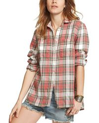 Denim & Supply Ralph Lauren - Plaid Utility Shirt - Lyst