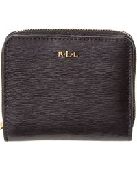 Pink Pony - Lauren By Tate Leather Compact Wallet - Lyst