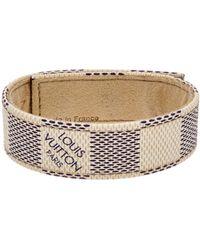 Louis Vuitton - Damier Azur Canvas Wrap Bracelet - Lyst