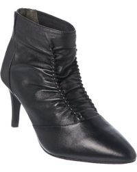 Adrianna Papell - Bennet Studded Leather Bootie - Lyst
