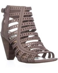 c39738da01c Vince Camuto Elanso Sandal (women) in Brown - Lyst