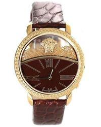 Versace   Women's Krios Swiss Quartz Stainless Steel Watch, Model Vas050016   Lyst