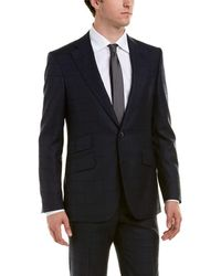 Robert Graham - Wool-blend Suit With Flat Front Pant - Lyst