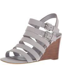 Ralph Lauren - Lauren By Womens Aleigh Leather Open Toe Casual Ankle Strap Sand... - Lyst