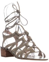 ac50c4cf56dc2f Lyst - 275 Central Moss Beige Suede Espadrille Sandals in Natural
