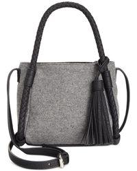 Danielle Nicole - Womens Brigit Wool Blend Mini Bucket Handbag - Lyst