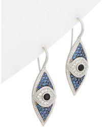 Judith Ripka - Silver 1.59 Ct. Tw. Gemstone Drop Earrings - Lyst