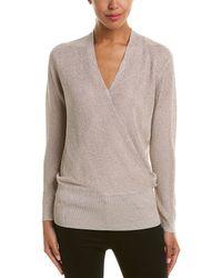 Reiss - Lee Metallic Sweater - Lyst