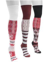 Muk Luks - Women's Lodge Over The Knee Socks - Lyst