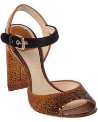 Dior - Sequin Embellished Sandal - Lyst
