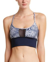 Sam Edelman - Wide Band Mesh Sports Bra - Lyst